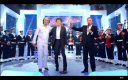 Carlos, Souchon et le Bagad de Lann Bihou chez Drucker - Champs Elyses